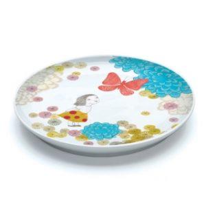 Djeco Πορσελάνινο πιάτο Petals